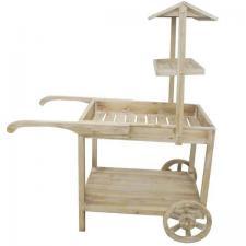 Location chariot élégant en bois candy bar pour vos présentations (x1) REF/EV-355