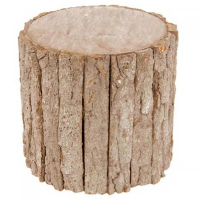 REF/EV-390 / Location support tronc d'arbre en bois pour vos présentations (x1)