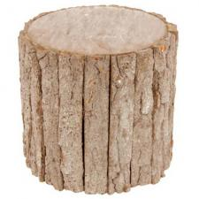Location support tronc d'arbre en bois pour vos présentations (x1) REF/EV-390