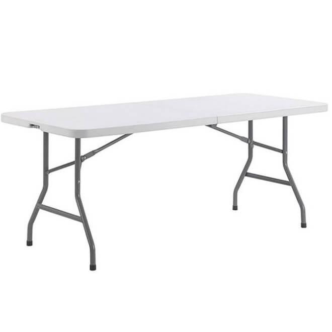 Location table rectangulaire blanche nord pas de calais