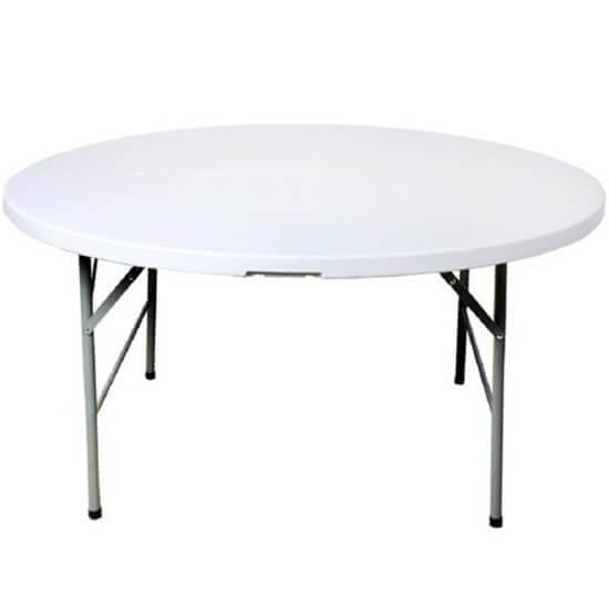 Location table ronde pliante 120cm nord pas de calais