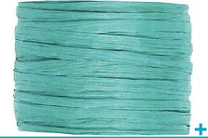 Loisir creatif avec raphia ruban et cordon