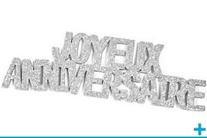 Loisir creatif avec stickers ruban adhesif anniversaire