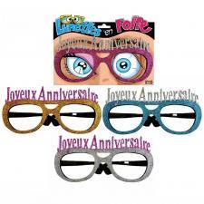 Cadeau de fête lunettes pailletées joyeux anniversaire (x1) REF/LUNA00