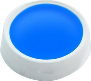 Maquillage fard gras, 10gr: Bleu (x1) REF/91016