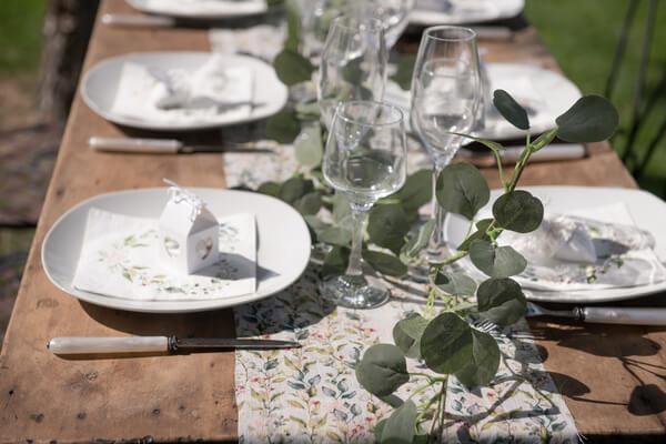 Mariage elegant et ecologique
