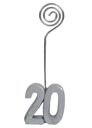 Marque place anniversaire argent 20ans