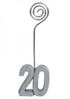 Marque-place anniversaire argent 20ans (x2) REF/4291