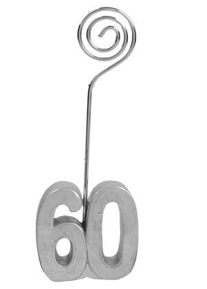Marque place anniversaire argent 60ans
