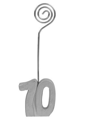 Marque place anniversaire argent 70ans