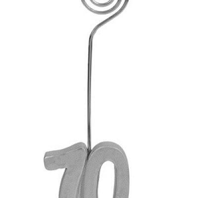 Marque-place anniversaire argent 70ans (x2) REF/4291