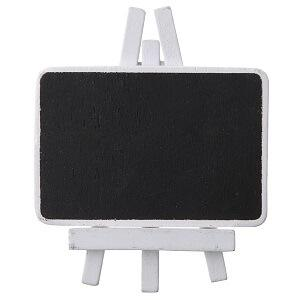 Marque-place ardoise blanc (x4) REF/70102