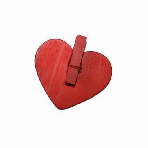 Marque place ardoise coeur mariage rouge