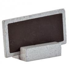 Marque-place ardoise argent (x6) REF/3347