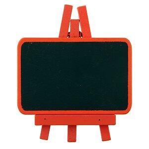 Marque-place ardoise orange (x4) REF/70102