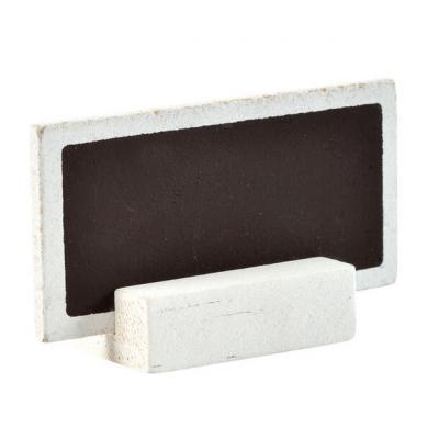Marque-place ardoise blanc (x6) REF/3347