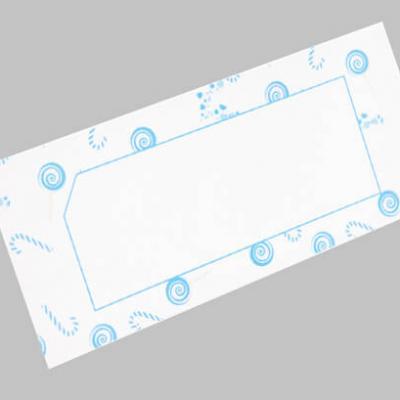 Marque-place bonbon bleu ciel (x6) REF/CART1208