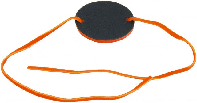 Marque place bracelet ardoise orange