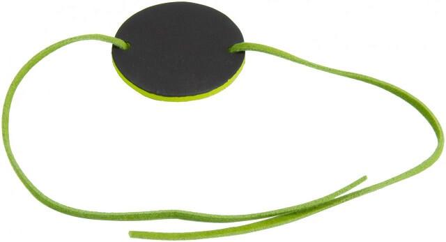 Marque place bracelet ardoise vert