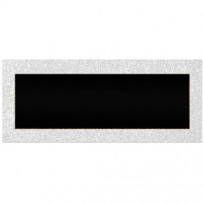 Marque-place pailleté blanc Albâtre (x6) REF/MPPR00BA