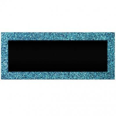 Marque-place pailleté bleu océan (x6) REF/MPPR00B