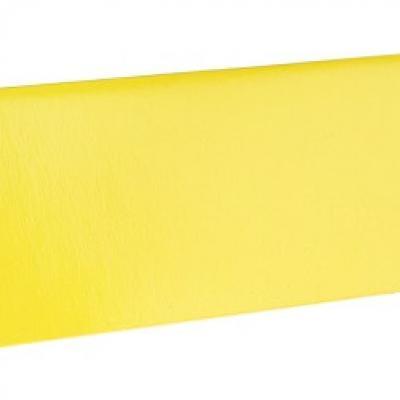 Marque-place rectangle jaune (x10) REF/3013