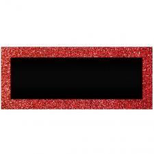 Marque-place pailleté rouge passion (x6) REF/MPPR00R