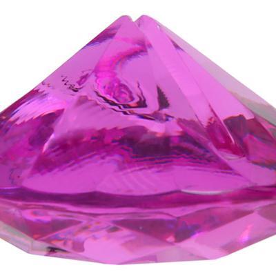 Marque-place diamant fuchsia (x4) REF/4127