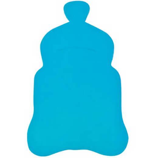 Marque place etiquette bapteme biberon bleu turquoise