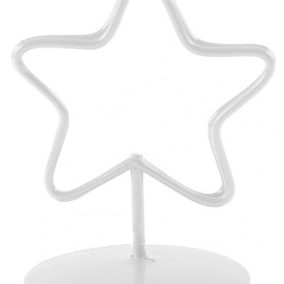 Marque-place étoile blanc (x2) REF/70322