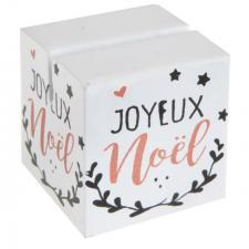 Marque-place joyeux noël (x2) REF/6164
