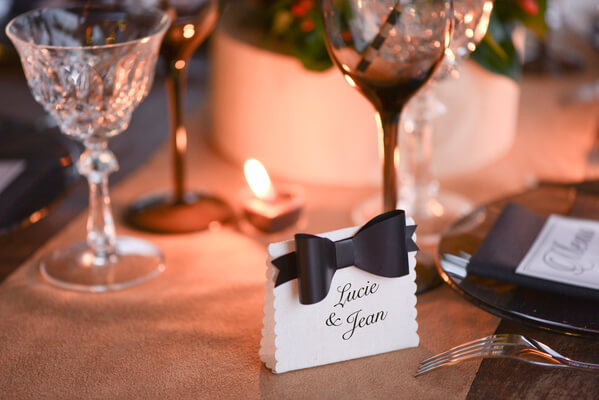 Marque place mariage 9