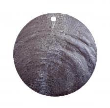 Marque-place rond nacré noir (x6) REF/3602