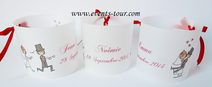Marque place photophore mariage 1