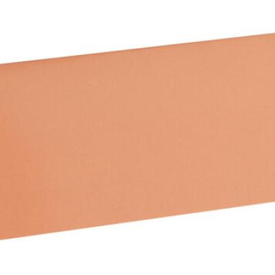 Marque-place rectangle corail (x10) REF/3013
