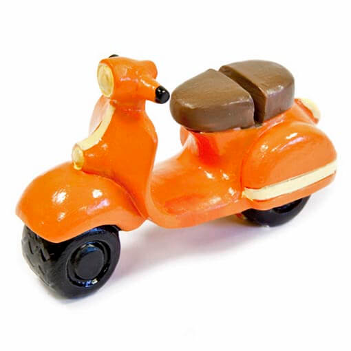 Marque place scooter vintage orange
