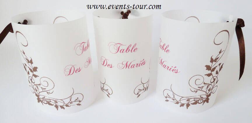 Marque table chocolat 2