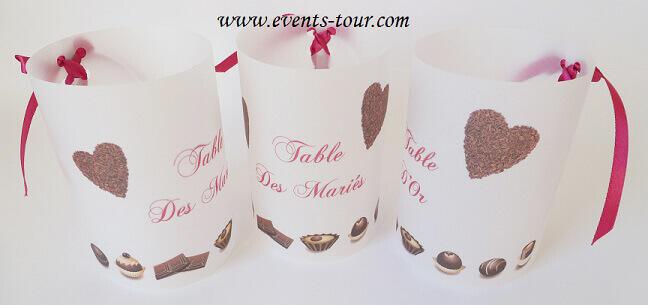 Marque table chocolat 3