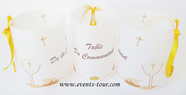 Marque table communion