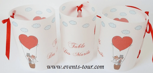 Marque table mariages 1