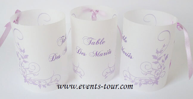 Marque table parme