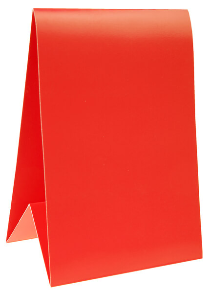 Marque table rouge 1