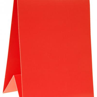 Marque-table rouge (x6) REF/4334