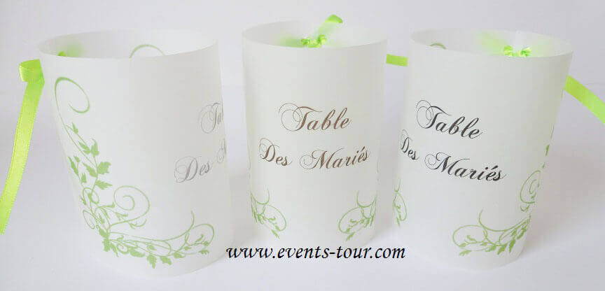 Marque table vert 2