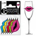 Marque-verre bouche (x6) REF/MVB