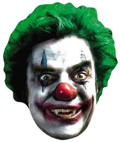 Masque adulte clown