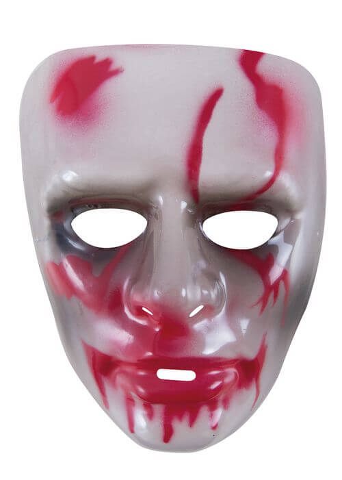 Masque adulte halloween transparent