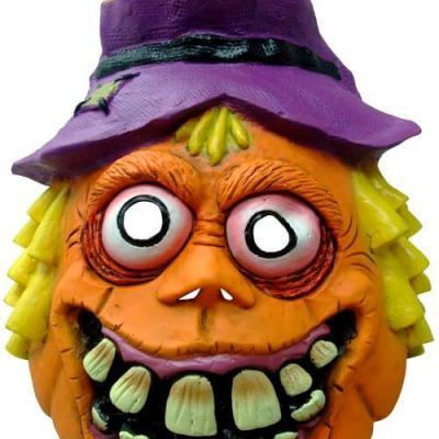 Masque adulte Halloween: Citrouille (x1) REF/30121
