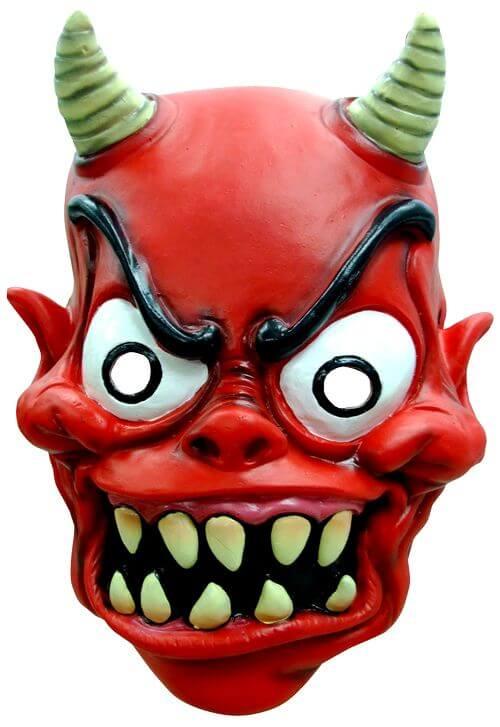 Masque adulte hallowen diable