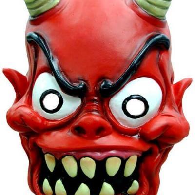 Masque adulte Halloween: Diable (x1) REF/30121